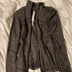 Lululemon Gray Zip-up Jacket